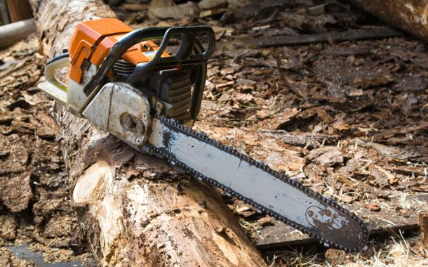 chainsaw repaired